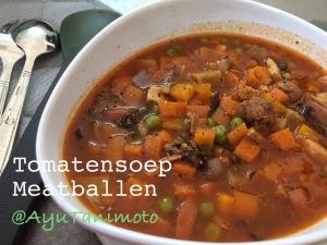 Tomatensoep Meatballen by @AyuTanimoto
